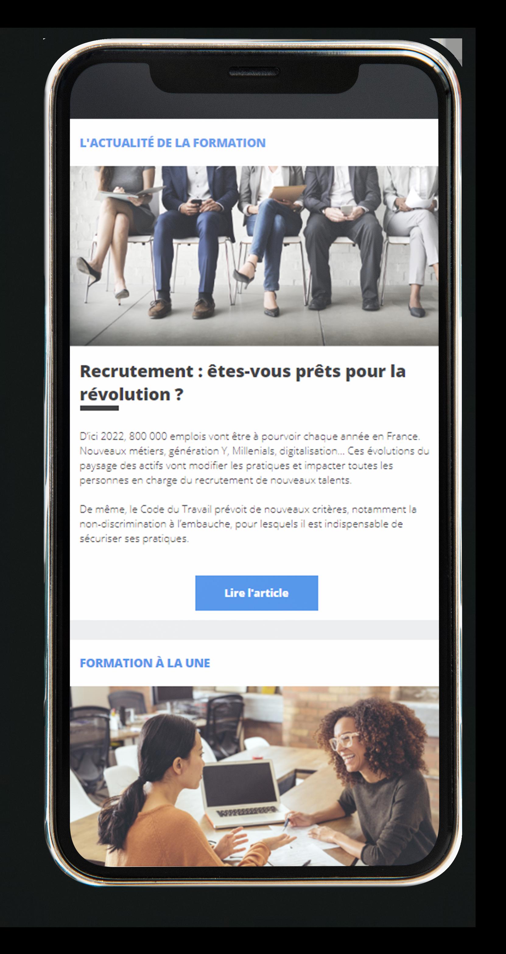 screenshot mobile newsletter topformation organisme-2